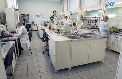 Лаборатория по борьбе с коррозией и биокоррозией